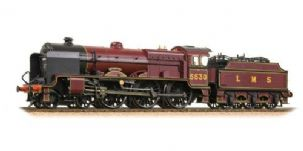 31-204 LMS Patriot Class 5530 'Sir Frank Ree' LMS Crimson